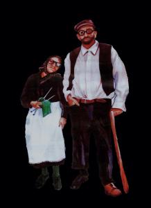 Tziu Marcu e tzia Maria